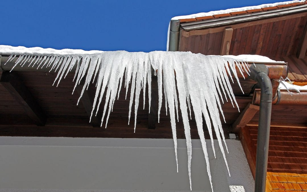 winter weather damages your home